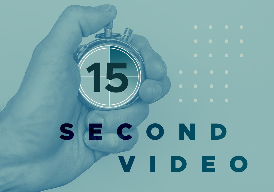 Quick Takes: The Art of the 15-Second Video Ad